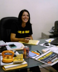 Melissa Etienne, Office Manager, keeps things running smoothly